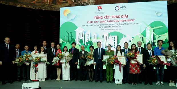 Contest raises youth's awareness of climate change hinh anh 1