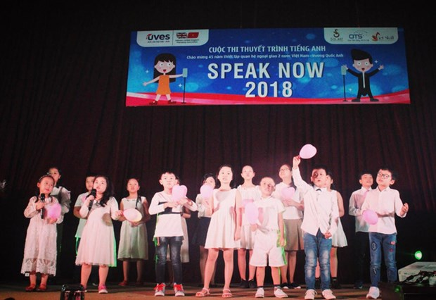 Sixteen excellent children compete at Speak Now 2018 final hinh anh 1