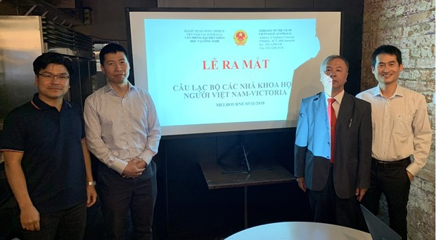 Third club for Vietnamese scientists in Australia set up hinh anh 1