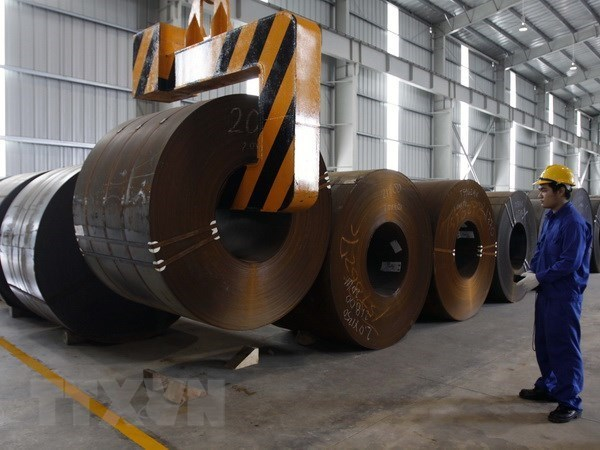 Vietnam maintains tariffs on imported steel hinh anh 1