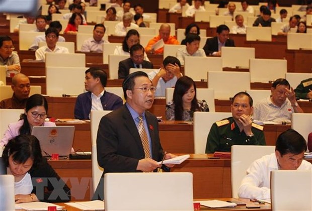 Bills on higher education, police focus of National Assembly on Nov 6 hinh anh 1