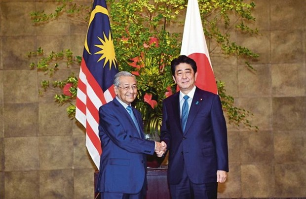 Japanese, Malaysian PMs hold talks hinh anh 1