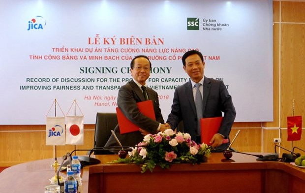 JICA helps Vietnam improve stock market's fairness, transparency hinh anh 1