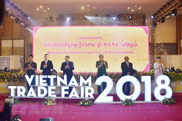 2018 Vietnam Trade Fair in Cambodia opens hinh anh 1