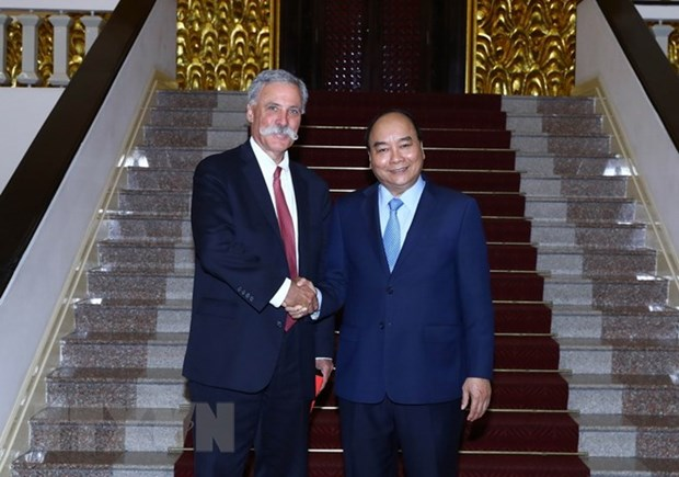 Prime Minister meets Formula One Group leader hinh anh 1