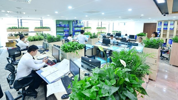 Green Office initiative to help reduce greenhouse gas emissions hinh anh 1