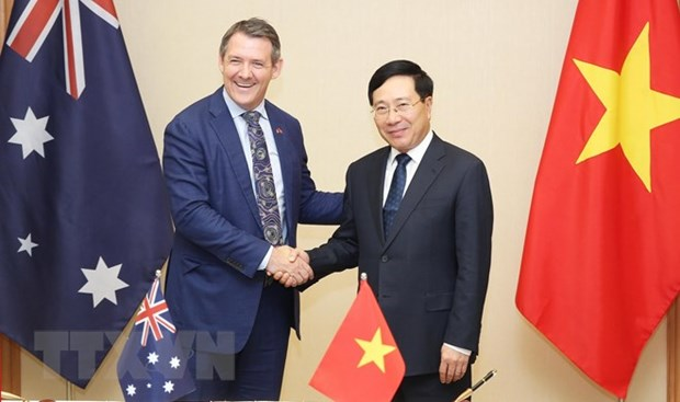 Deputy PM receives Chief Minister of Australia's Northern Territory hinh anh 1