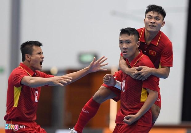 Vietnam beats Timor Leste 8-1 at AFF Futsal Champs hinh anh 1