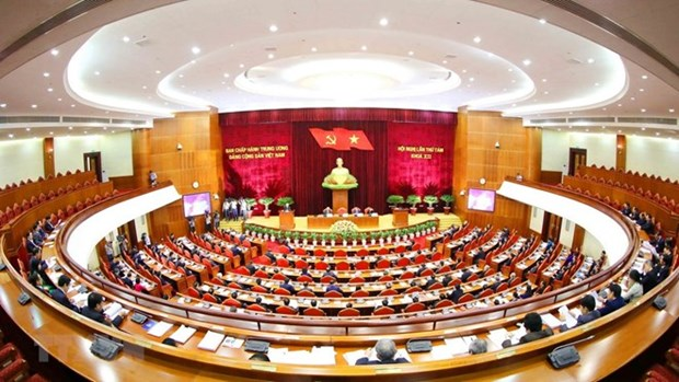 Working performance shows efficiency of Party members' example setting hinh anh 1