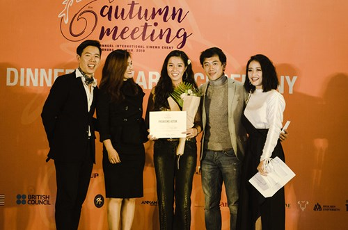 Film by young VN director wins top prize at Autumn Meeting hinh anh 1