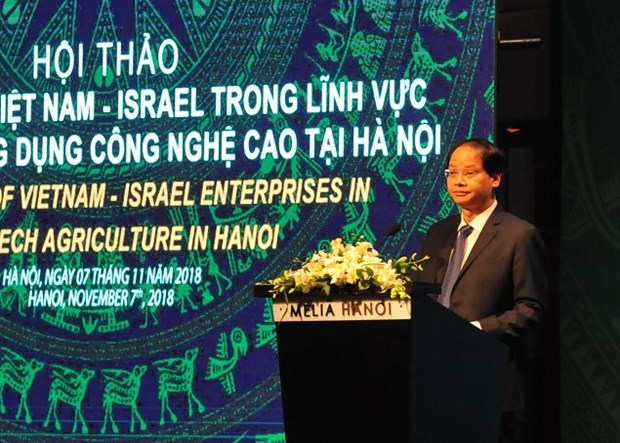 Hanoi wishes for Israel's cooperation in hi-tech farming hinh anh 1