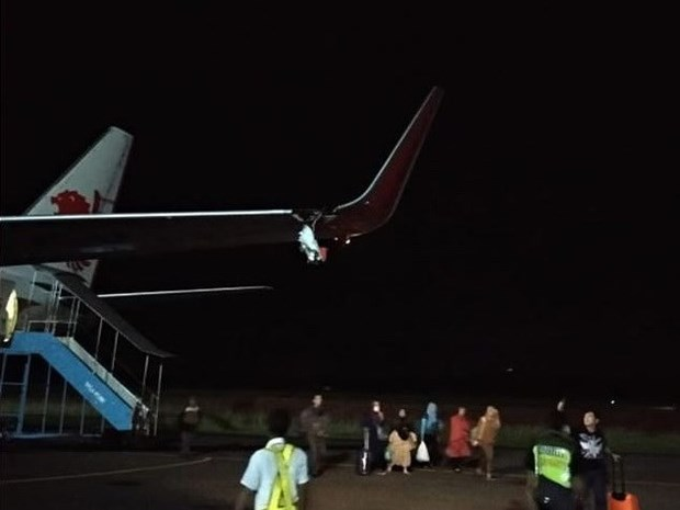 Indonesia: Lion Air jet in another accident hinh anh 1