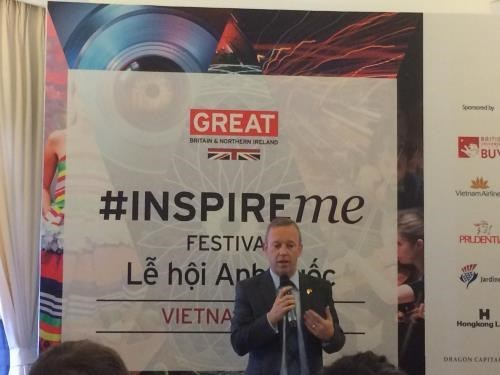UK's Inspire Me Festival to take place in Hanoi for first time hinh anh 1