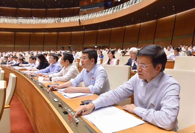 National Assembly sets 2019 GDP growth of 6.6-6.8 percent hinh anh 1