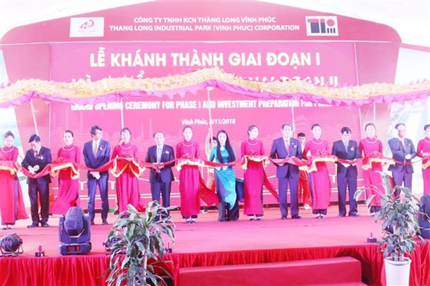 Thang Long Industrial Park III's first phase inaugurated hinh anh 1