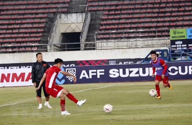 Vietnam ready for first match against Laos in AFF Cup hinh anh 1