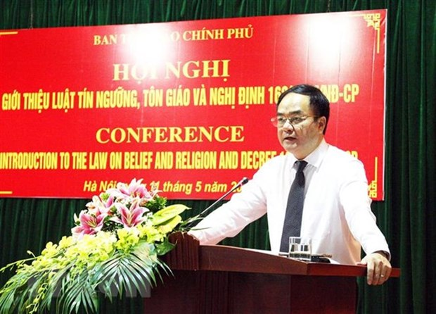 Vietnam, Russia exchange experience in management of religious affairs hinh anh 1