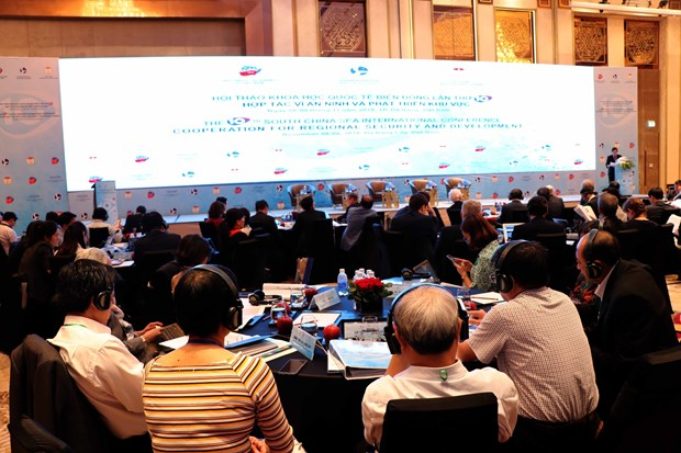 International conference on East Sea opens in Da Nang hinh anh 1