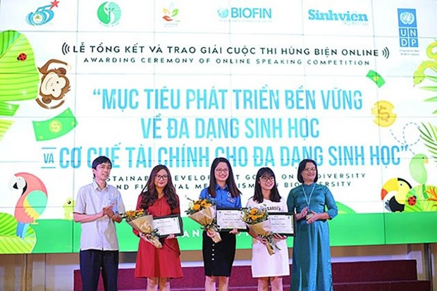 Youth raise voices to help biodiversity protection hinh anh 1