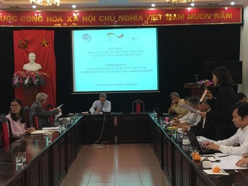 Experts make policy recommendations to foster Agriculture 4.0 hinh anh 1