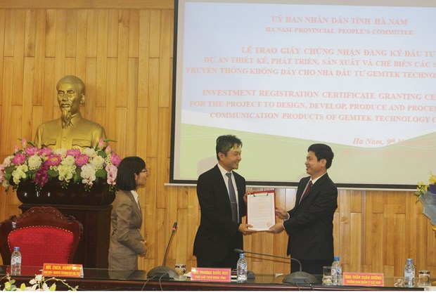 Ha Nam licenses 60 million-USD project hinh anh 1