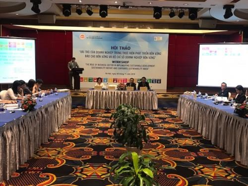 Workshop highlights role of enterprises in realising SDGs hinh anh 1