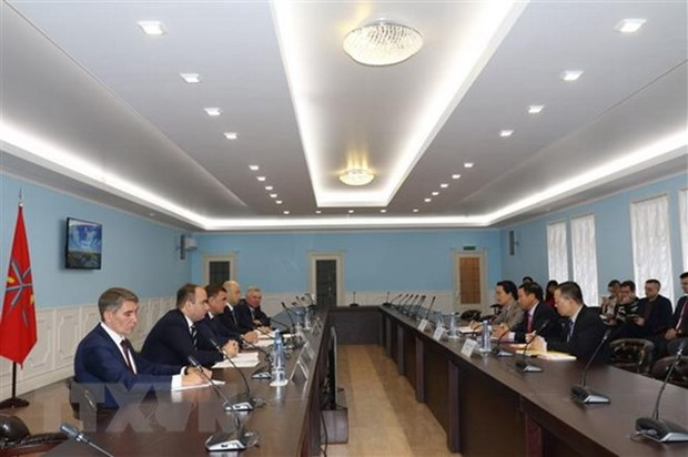 Russia's Tula Oblast boosts cooperation with Vietnamese localities hinh anh 1