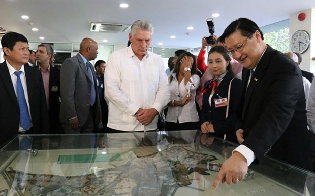 Cuba wants to learn Vietnam's experiences in developing hi-tech parks hinh anh 1