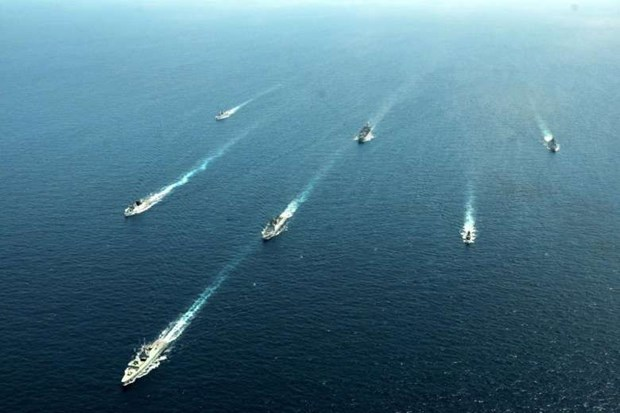 Singapore, India start large-scale military exercises hinh anh 1