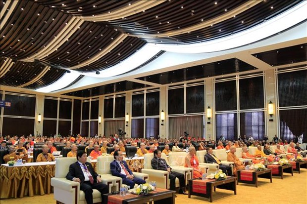 Buddhist leaders in Vietnam, Laos, Cambodia step up cooperation hinh anh 1