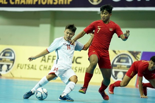 Vietnam ranks fourth at AFF futsal champs hinh anh 1