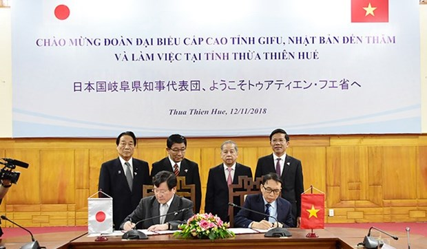 Thua Thien-Hue steps up ties with Japan's Gifu prefecture hinh anh 1