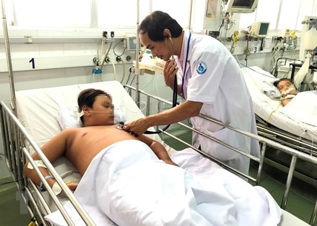 HCM City sees sharp rise in dengue fever cases hinh anh 1
