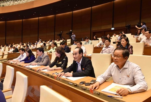 NA: resolutions on adjusting mid-term public investment plan, CPTPP adopted hinh anh 1