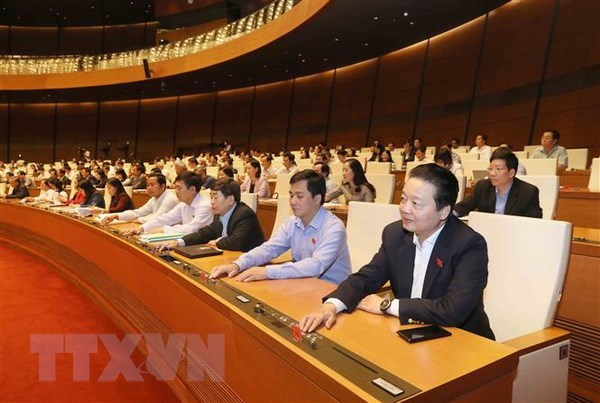 National Assembly issues 17th communique of its ongoing sixth session hinh anh 1