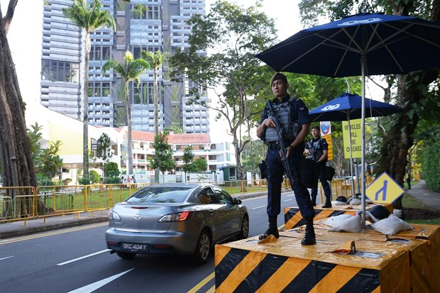 Singapore tightens security for ASEAN Summit, related events hinh anh 1