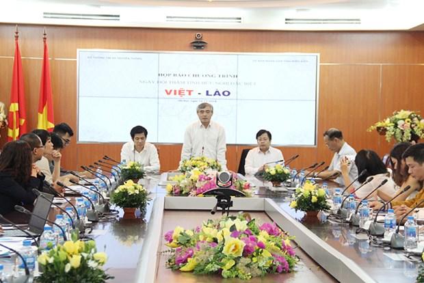 """Vietnam-Laos Special Friendship"" Day to be held in Dien Bien hinh anh 1"