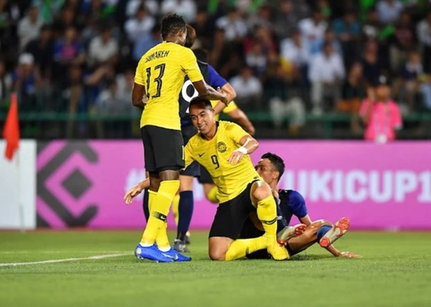 Malaysia, Myanmar win, pushing Vietnam to 3rd place in Group A hinh anh 1