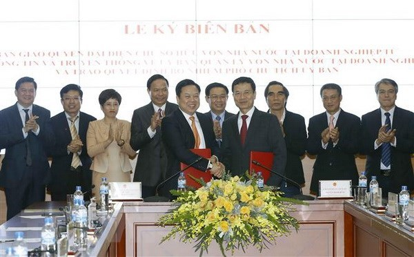 More enterprises transferred to state capital management committee hinh anh 1