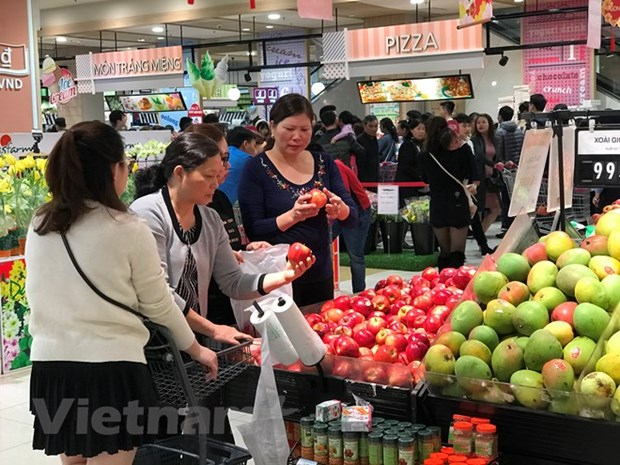 Efforts made to strengthen presence of Vietnamese products in foreign retail hinh anh 1