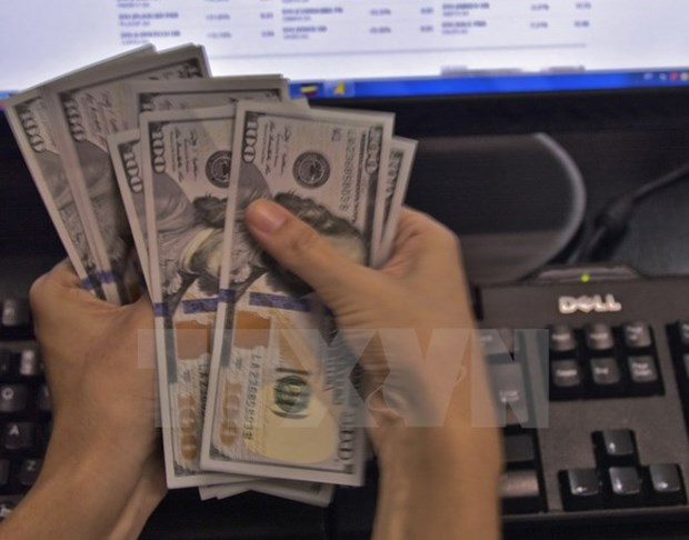 Reference exchange rate up 2 VND on November 13 hinh anh 1