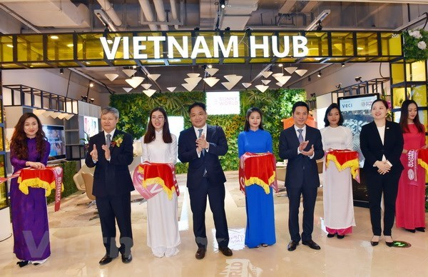 Vietnam trade promotion area launched in Shanghai hinh anh 1