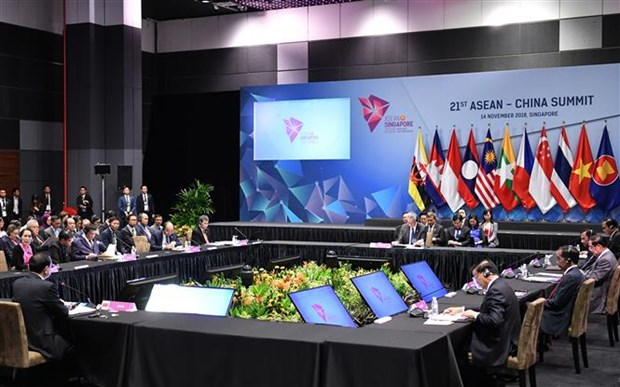 ASEAN - China Strategic Partnership Vision 2030 adopted hinh anh 1
