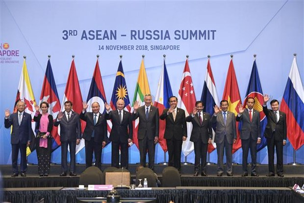 ASEAN, Russia upgrade ties to strategic partnership hinh anh 1