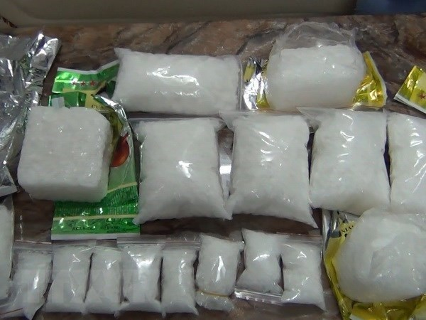 Cambodian drug trafficker arrested in HCM City hinh anh 1