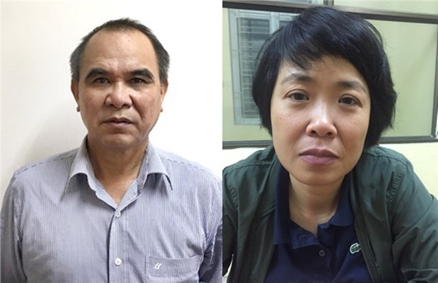Two arrested for alleged rule violations in Mobifone hinh anh 1