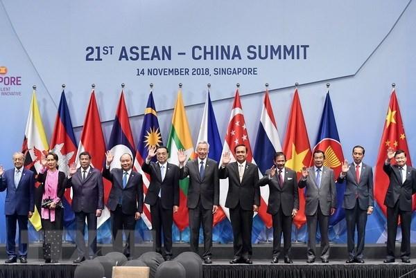 PM Nguyen Xuan Phuc backs ASEAN-China cooperation hinh anh 1