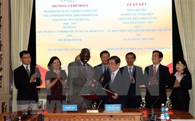 HCM City, WB promote comprehensive partnership hinh anh 1