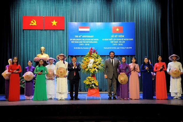 Vietnam-Netherlands diplomatic ties anniversary marked hinh anh 1
