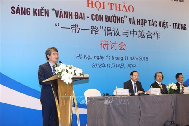 Conference highlights Belt and Road initiative, Vietnam-China partnership hinh anh 1